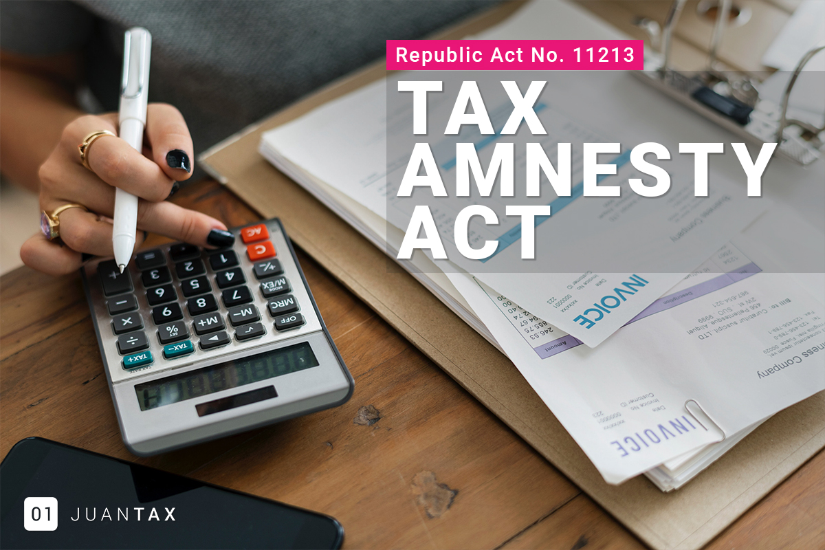 Tax Amnesty Act of 2019